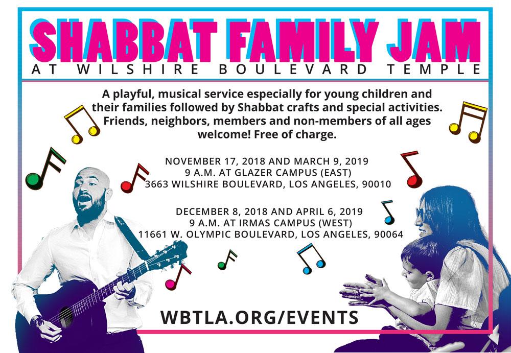Calendar Event Detail - Wilshire Boulevard Temple